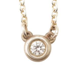 【ティファニー】Tiffany バイザヤード ネックレス ダイヤモンド 925 シルバー 【中古】【正規品保証】117236|retrojp