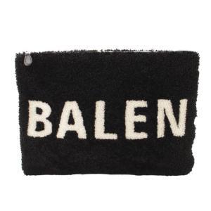 【バレンシアガ】Balenciaga ロゴ クラッチバッグ 492681 ブラック 【中古】【正規品保証】117362|retrojp