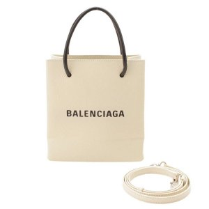 【バレンシアガ】Balenciaga ショッピング XXS 2way ショルダー トートバッグ 555140 アイボリー 【中古】【正規品保証】117875|retrojp