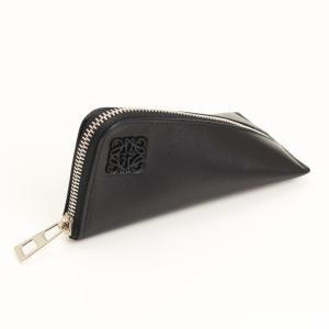 【ロエベ】Loewe ナッパレザー Z Purse コインケース ブラック  【中古】【正規品保証】17273|retrojp