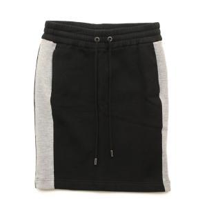 【アドーア】ADORE スウェットスカート ブラック グレー...