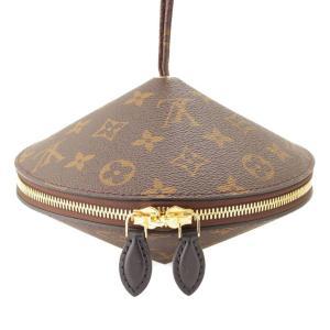 【ルイヴィトン】Louis Vuitton モノグラム トゥピ ミノディエール パーティバッグ 小物入れ M44592 ブラウン 未使用【中古】【正規品保証】84337|retrojp