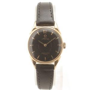 【オメガ】omega シーマスターコスミック アンティーク 腕時計 革ベルト cal.244 ブラック 【中古】【正規品保証】92647|retrojp