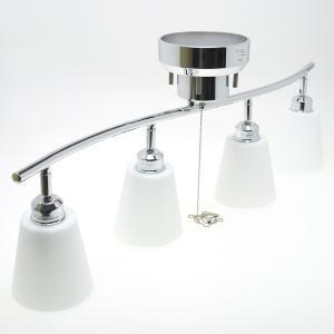 4灯スポットライト・ガラスシェード(引掛けシーリング用) ※電球は別売※|reudo