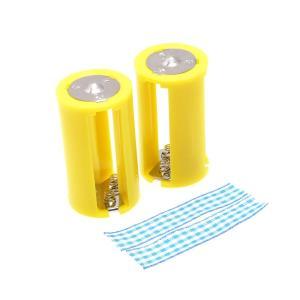 単三3本 - 単一 乾電池変換アダプター (2個セット)|reudo