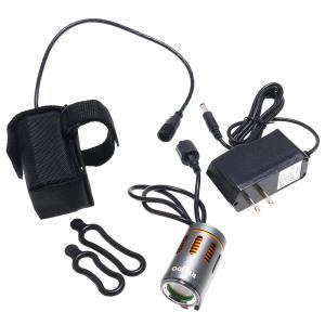 【訳あり・アウトレット品】LEDサイクルライト 120度超広角照射(600ルーメン6時間点灯) reudo