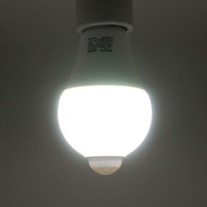 LED電球 人感 明るさ センサー付 E26口...の詳細画像4