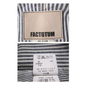 FACTOTUM / ファクトタム    ジャケット|reuse-aoishopping|04