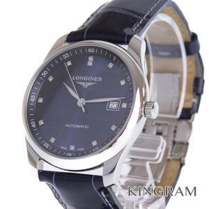 0ae58a5efd ロンジン LONGINES Ref.L2.793.4.97.2 マスターコレクション 10Pダイヤ 自動巻 メンズ 腕時計 as 【中古】