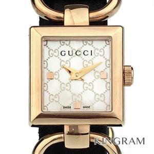 01732d7987c7 グッチ GUCCI 120 トルナヴォーニ Ref.YA120519 クォーツ レディース 腕時計 ec 【アウトレット】