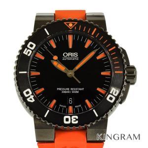 オリス アクイス デイト 733.7653.4259RO ダイバーズ300M 自動巻 メンズ 腕時計...