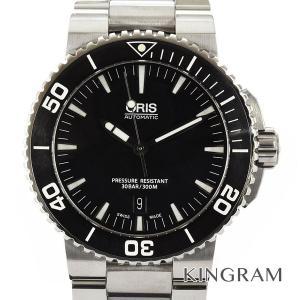 オリス メンズ 腕時計 アクイス デイト 7653-04 OH済 自動巻 gi【中古】