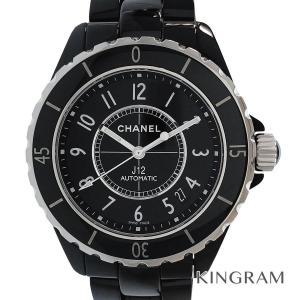 シャネル J12  H0685 OH済 自動巻  メンズ 腕時計 te【中古】