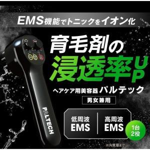 リーブ21 パルテック EMS 頭皮ブラシ 低周波 高周波 男女兼用 育毛 促進