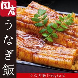 宮崎県 国産うなぎ蒲焼のうなぎ飯 (320g) 2個セット 九州の美味しい鰻をご自宅で簡単に食べられます 中村商店 ウナギ お取り寄せ グルメ 贈答 丼 ご褒美 贅沢 revemarche