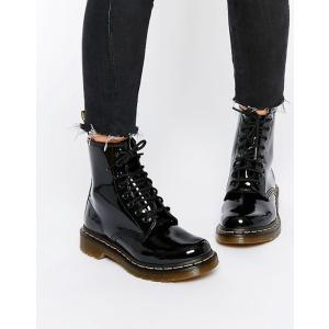 ドクターマーチン レディース ブーツ・レインブーツ シューズ Dr Martens modern classics 1460 patent 8-eye boots|revida