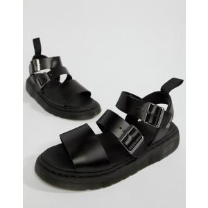 ドクターマーチン メンズ サンダル シューズ Dr Martens Gryphon Strap Sandals In Black|revida