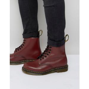 ドクターマーチン メンズ ブーツ・レインブーツ シューズ Dr Martens original 8-eye boots in red 11822600|revida