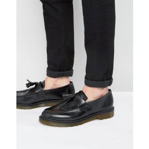 ドクターマーチン メンズ スリッポン・ローファー シューズ Dr Martens Adrian tassel loafers in black|revida