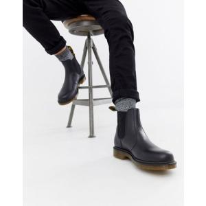 ドクターマーチン メンズ ブーツ・レインブーツ シューズ Dr Martens 2976 chelsea boots in all black|revida