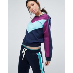 ジューシークチュール レディース パーカー・スウェット アウター Juicy Couture Color Block Sweat|revida