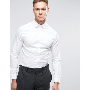 ジャック アンド ジョーンズ メンズ シャツ トップス Jack & Jones Premium Stretch Shirt in Slim Fit revida