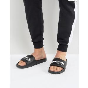 リーボック メンズ サンダル シューズ Reebok Classic Sliders In Black BS7414 revida