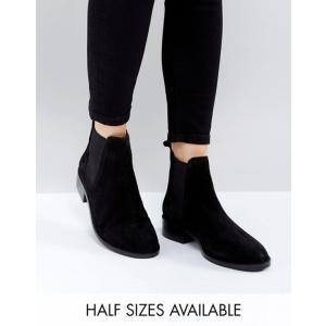 エイソス レディース ブーツ・レインブーツ シューズ ASOS ABSOLUTE Suede Chelsea Ankle Boots|revida