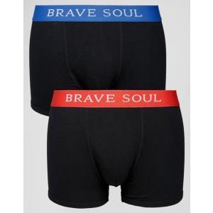 ブレーブソウル メンズ トランクス アンダーウェア Brave Soul 2 Pack Boxers|revida