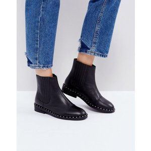 エイソス レディース ブーツ・レインブーツ シューズ ASOS ALISTAR Leather Chelsea Boots|revida