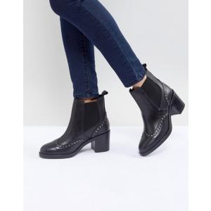 カーベラ・カート・ジェイガー レディース ブーツ・レインブーツ シューズ Carvela Stop Leather Studded Ankle Boots|revida