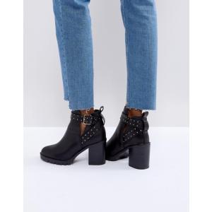 ミスケージー レディース ブーツ・レインブーツ シューズ Miss KG Taffy Studded Heeled Ankle Boots|revida