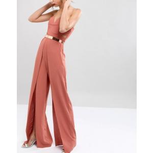 エイソス レディース ベルト アクセサリー ASOS DESIGN skinny full metal rose gold waist belt|revida
