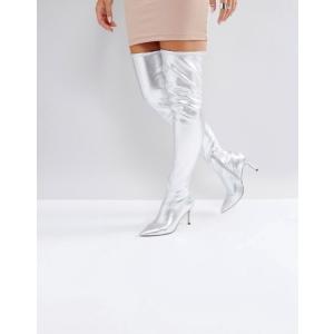 エイソス レディース ブーツ・レインブーツ シューズ ASOS KINDY Point Over The Knee Boots|revida