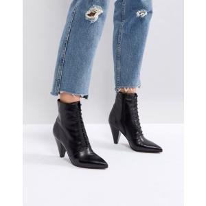 エイソス レディース ブーツ・レインブーツ シューズ ASOS EVERLASTING Leather Lace Up Boots|revida