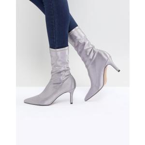エイソス レディース ブーツ・レインブーツ シューズ ASOS ELVA Heeled Sock Boots|revida