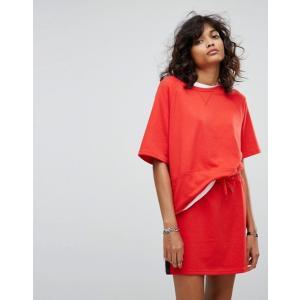 ノイジーメイ レディース Tシャツ トップス Noisy May Slouchy T-Shirt With Color Blocking Stripe revida