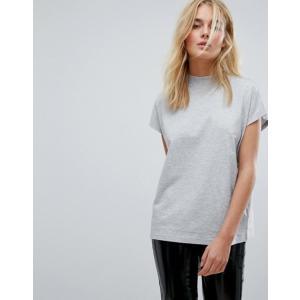 ウィークデイ レディース Tシャツ トップス Weekday High Neck T-shirt revida