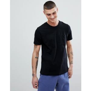 ヌーディージーンズ メンズ Tシャツ トップス Nudie Jeans Co Kurt Worker T-Shirt Black|revida