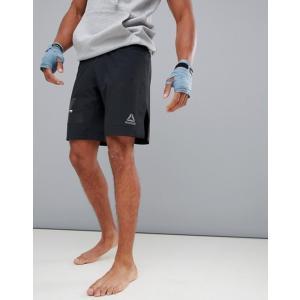リーボック メンズ ハーフパンツ・ショーツ ボトムス Reebok Combat Boxing Shorts In Black D96002|revida
