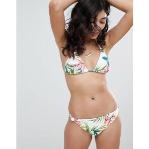 ビラボン レディース トップのみ 水着 Billabong Floral Bandeau Bikini Top|revida
