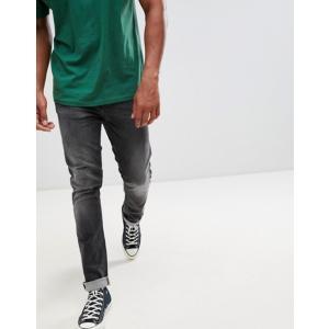 ヌーディージーンズ メンズ デニムパンツ ボトムス Nudie Jeans Co Grim Tim Slim Jeans Gray Authentic|revida
