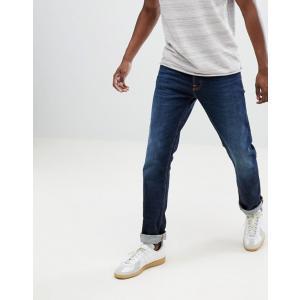 ヌーディージーンズ メンズ デニムパンツ ボトムス Nudie Jeans Co Dude Dan Straight Fit Jeans Dark Layers|revida