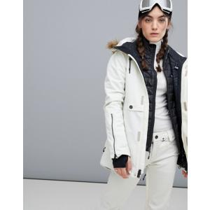 ボルコム レディース ジャケット・ブルゾン アウター Volcom Fawn Insulated Jacket in White revida