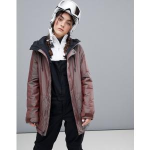 ボルコム レディース ジャケット・ブルゾン アウター Volcom Winrose Insulated Jacket in Iridescent Purple revida
