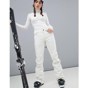 ボルコム レディース カジュアルパンツ ボトムス Volcom Species Stretch Pants in White|revida