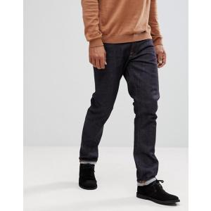 ヌーディージーンズ メンズ デニムパンツ ボトムス Nudie Jeans Co Dude Dan straight fit jeans in dark blue|revida
