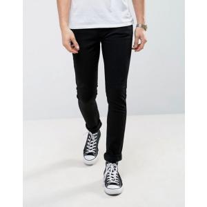ヌーディージーンズ メンズ デニムパンツ ボトムス Nudie Jeans Co Skinny Lin jeans in black|revida