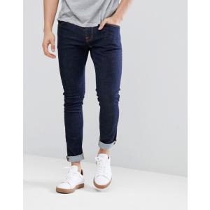ヌーディージーンズ メンズ デニムパンツ ボトムス Nudie Jeans Co Tight Terry twill jeans in rinse blue|revida