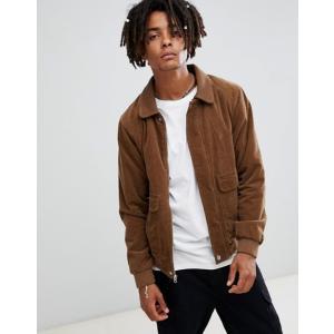 ボルコム メンズ ジャケット・ブルゾン アウター Volcom domjohn corduroy jacket in brown|revida